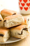 Buns with poppy Stock Images