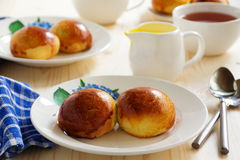 Buns with poppy filling Stock Images