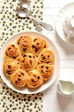 Buns with raisins Stock Images