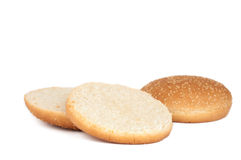 Buns with sesame seeds Stock Photography