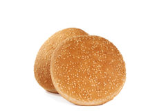 Buns with sesame seeds Stock Images