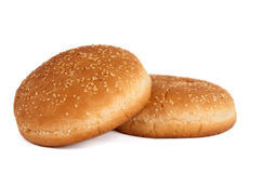 Buns with sesame seeds Stock Image