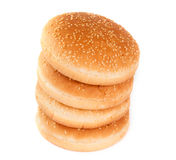 Buns with sesame seeds Royalty Free Stock Image