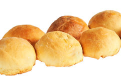 Buns, standing in a row Stock Image