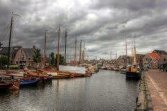 Bunschoten-Spakenburg, Нидерланды, Европа Стоковое Изображение