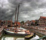 Bunschoten-Spakenburg holandie, Europa Zdjęcia Stock