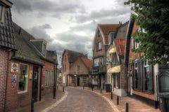 Bunschoten-Spakenburg, The Netherlands , Europe. Fishing village Bunschoten-Spakenburg, a journey through Holland, a trip to Europe royalty free stock photos