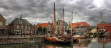 Bunschoten-Spakenburg, os Países Baixos, Europa Fotos de Stock