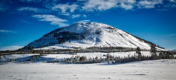 Bunsen Peak in Yellowstone