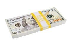 Bunt av amerikanpengar royaltyfri fotografi