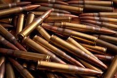 Bunt av ammunitionar Arkivfoto