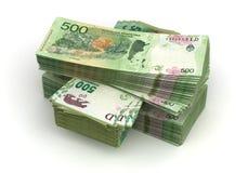 Bunt av Argentina Pesos vektor illustrationer