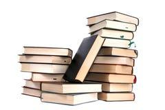 Bunt av böcker arkivfoton