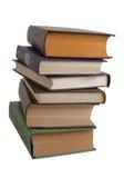 Bunt av böcker royaltyfri bild