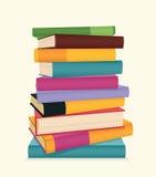 Bunt av böcker. Royaltyfria Foton