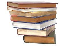 Bunt av books_1 Royaltyfri Foto