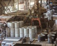 Bunt av färdiggjutna förstärkta konkreta tjock skiva i enbyggnad f Fotografering för Bildbyråer