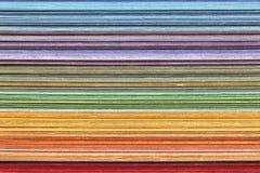 Bunt av färgrikt papper royaltyfria bilder