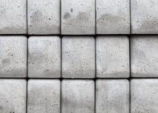 Bunt av grå textur för konkreta kvarter Royaltyfri Bild