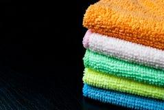 Bunt av handdukar Royaltyfria Bilder
