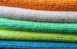 Bunt av handdukar Arkivbilder