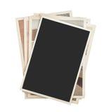 Bunt av isolerade foto royaltyfri fotografi