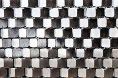 Bunt av metallmuttrar Royaltyfri Fotografi