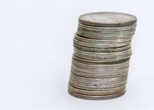Bunt av Morgan Dollar mynt Royaltyfri Foto