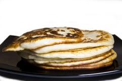 Bunt av pannkakor Fotografering för Bildbyråer