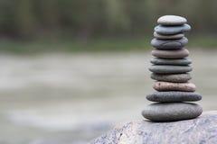 Bunt av pebbles arkivfoto