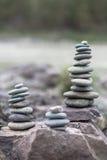 Bunt av pebbles Fotografering för Bildbyråer