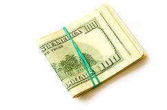 Bunt av pengar Royaltyfri Bild