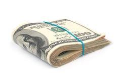 Bunt av pengar royaltyfria bilder