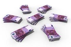 Bunt av pengar royaltyfri illustrationer