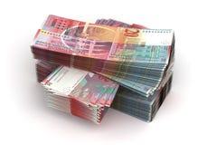 Bunt av schweizisk franc royaltyfria foton