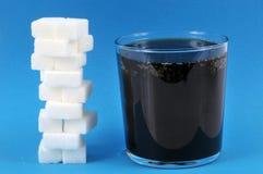 Bunt av socker och sodavatten arkivfoto