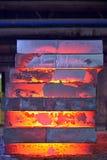 Bunt av stålplattan arkivfoton