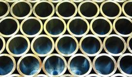 Bunt av stålrør royaltyfri fotografi