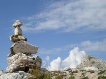 Bunt av stenar Arkivfoto