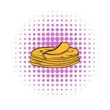 Bunt av tortillasymbolen, komikerstil vektor illustrationer