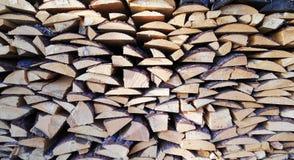 Bunt av trä Royaltyfri Fotografi