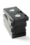 Bunt av VHS Cassetes Royaltyfria Foton