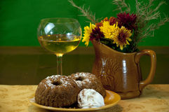 Thanksgiving Dessert Stock Image