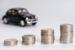 Bunt för bilfinanspengar Royaltyfria Bilder