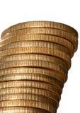 bunt för myntguld Arkivbild