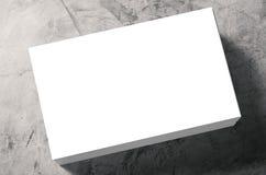 bunt för namn för blanka kort Arkivbild
