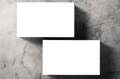 bunt för namn för blanka kort Arkivfoto