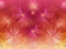 Bunt kristallisieren Sie abstrakten Hintergrund in neuem Sommerrosa O Stockbild