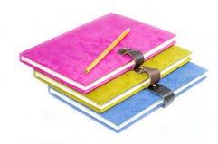 Bunt mit Buch der vorderen Abdeckung Lizenzfreie Stockbilder