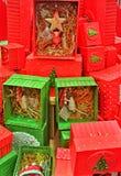 bunt stellt Weihnachten dar stockfotografie